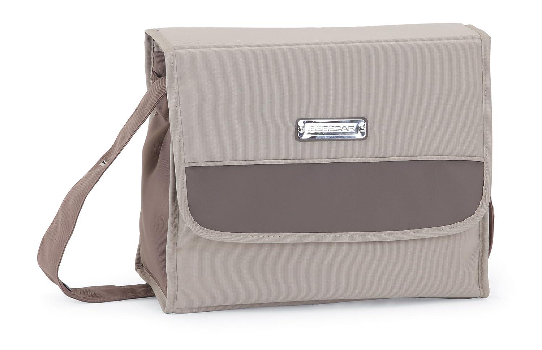 Bebecar - Bolso cambiador, color marrón: Amazon.es: Bebé