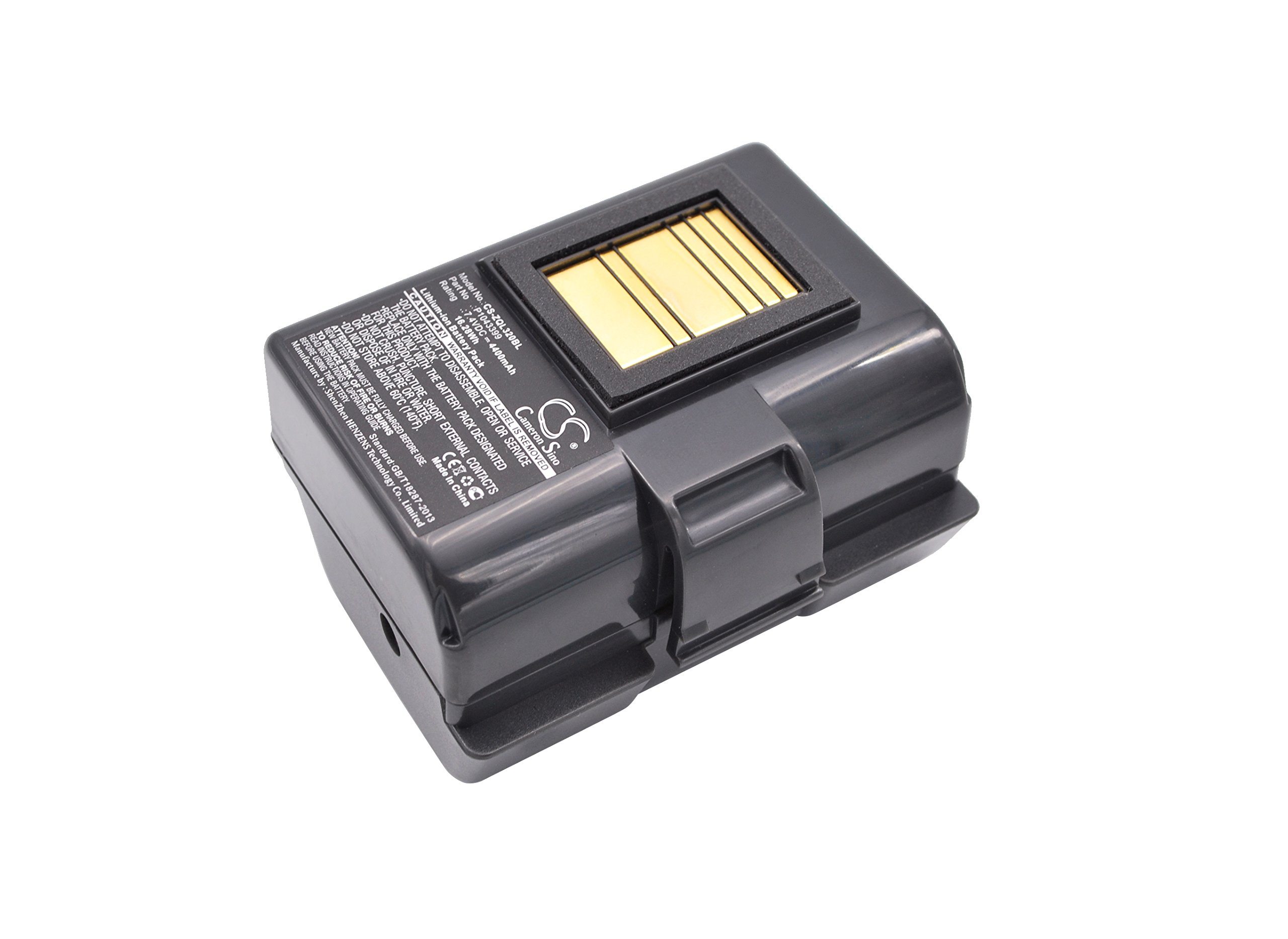 Replacement Battery for Zebra QLN320 QLN220 ZQ520 ZQ500 ZQ510 P1023901 P1023901-LF P1031365-025 by Bomibattery