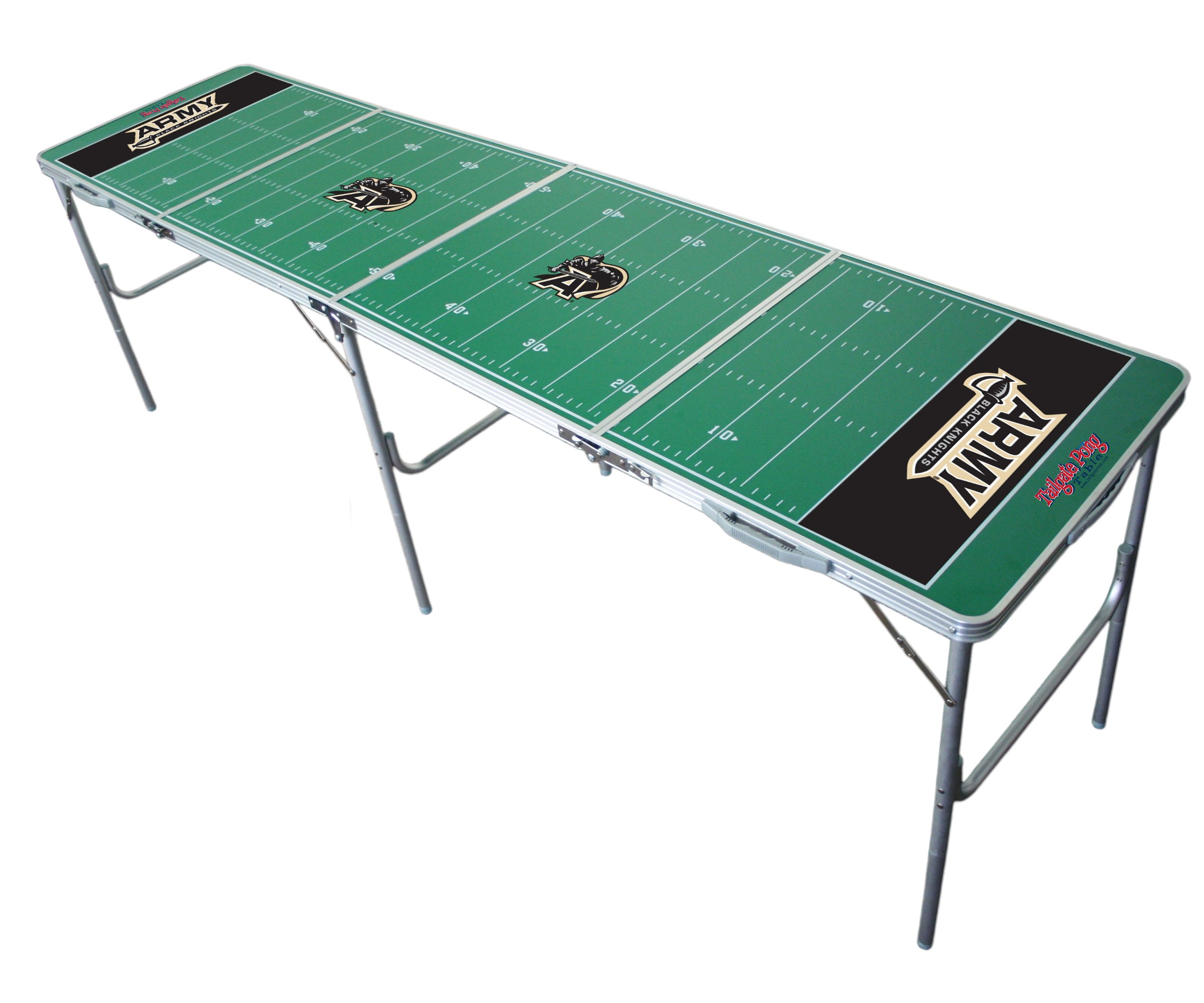 Army Black Knights 2x8 Tailgate Table by Wild Sports by Wild Sports