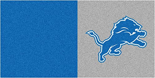 Fanmats Detroit Lions Team Carpet Tiles