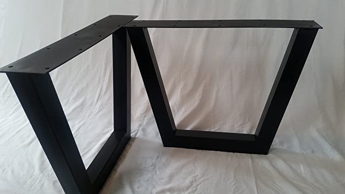 set a tall black ohiowoodlands p wide series steel for z leg sale sofa flat x legs metal accent table inch or