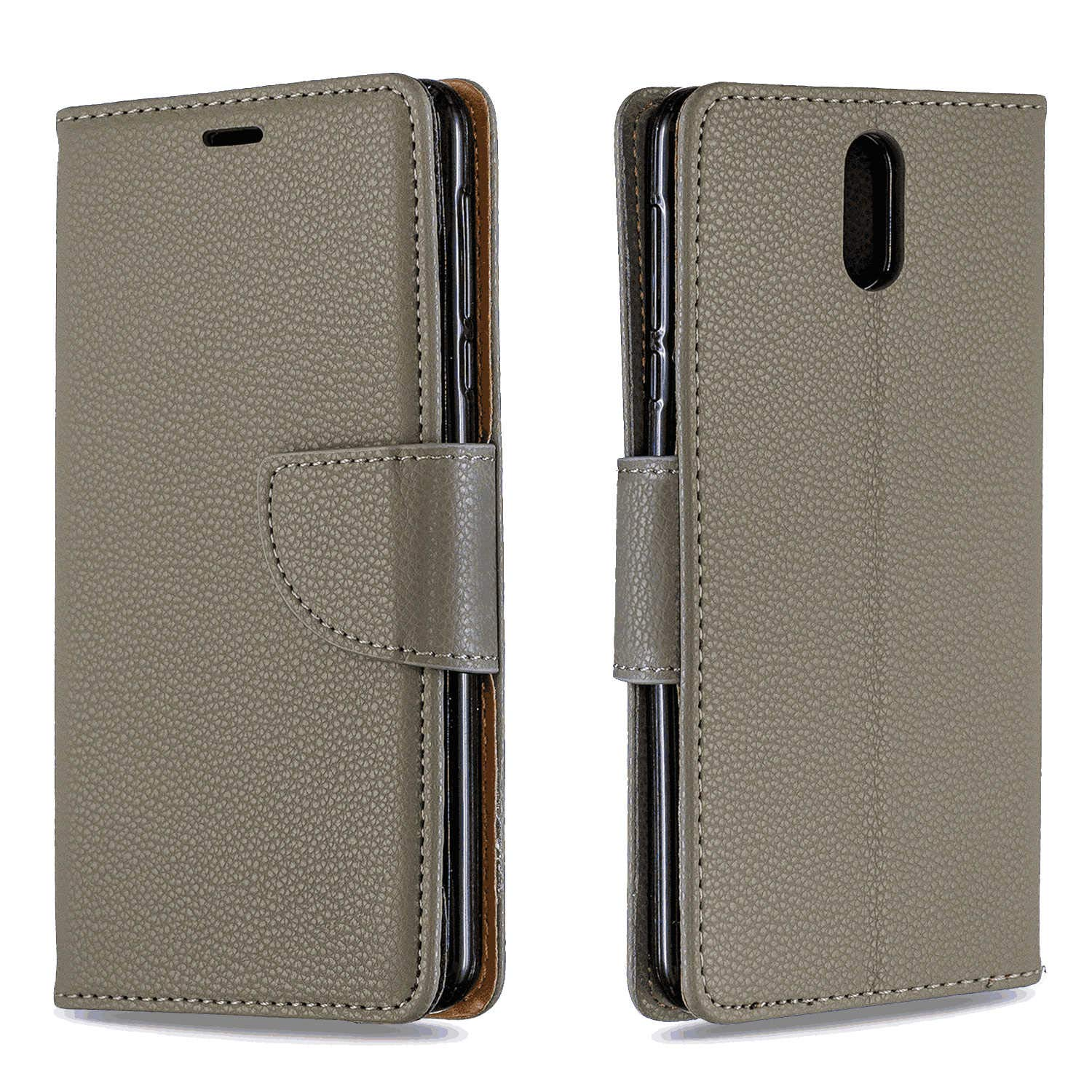 Samsung Galaxy A10S Flip Case Cover for Samsung Galaxy A10S Leather Kickstand Mobile Phone Cover Extra-Shockproof Business Card Holders with Free Waterproof-Bag Business