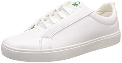ee0d625e3 United Colors of Benetton Men s White Sneakers - 9 UK India (43 EU ...