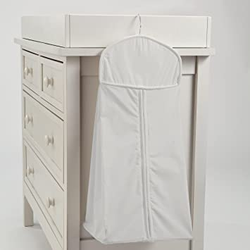 e76c95ede1 Amazon.com: Carousel Designs Solid Silver Gray Diaper Stacker: Baby