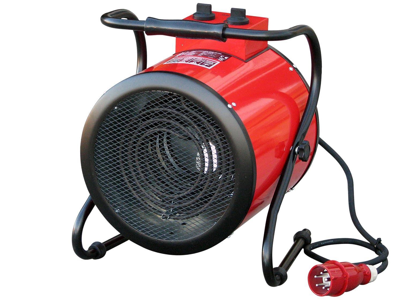 HFR-09-400 schwenkbar mit 9 kW Heizleistung 400V Rotek Elektrischer Rundheizl/üfter