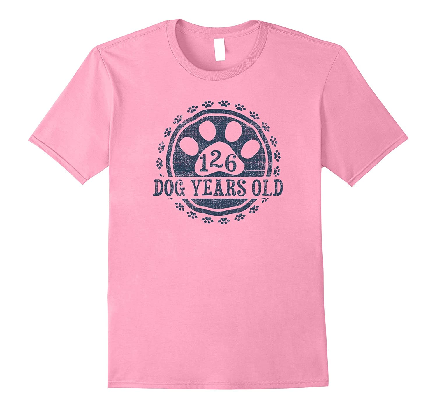 126 Dog Years Old 18 Human Yrs Old 18th Birthday Gift Shirt-TH