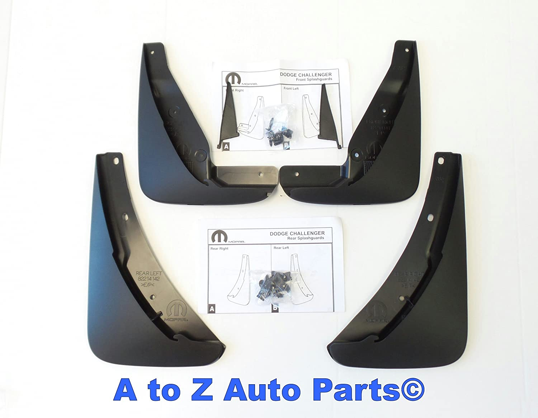 For Dodge Challenger Pair Set of Front Left /& Right Bumpers Extension Mopar