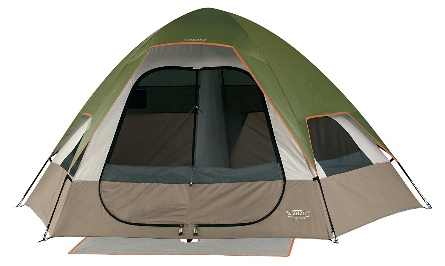 Amazon.com  Wenzel Big Bend 12-by-10 Foot Five-Person Two-Room Family Dome Tent  Sports u0026 Outdoors  sc 1 st  Amazon.com & Amazon.com : Wenzel Big Bend 12-by-10 Foot Five-Person Two-Room ...