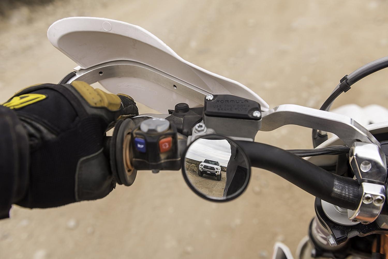 Doubletake Mirror Trail Motorcyle Mirror Set Universal Fitment