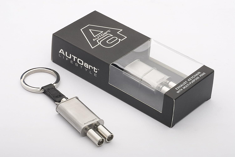AUTOart Exhaust Key Chain Keyring