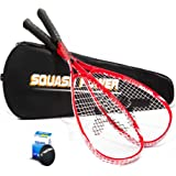 Victor 2x Dragon GT squash racket including squash ball & fullsize thermobag material : light aluminium
