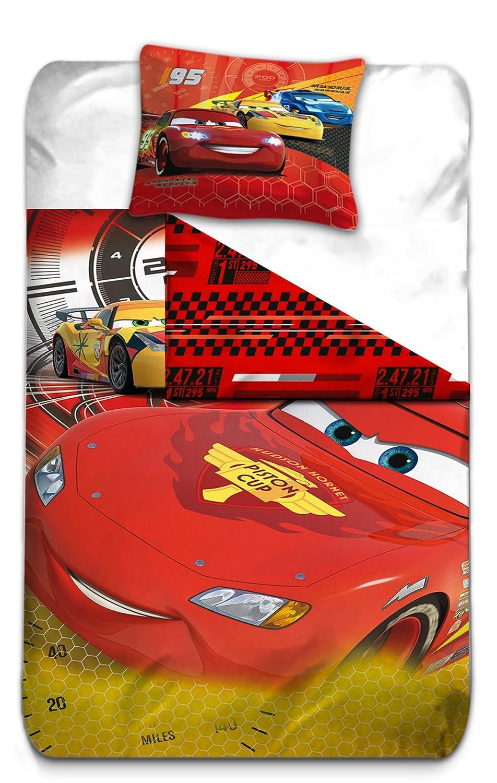 bb26bc9285a70e AYMAX S.P.R.L Cars 3 Housse de Couette réversible avec Taie d oreiller,  Microfibre, Rouge, 200x140 cm  Amazon.fr  Cuisine   Maison