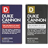 Duke Cannon Big Ass Brick of Soap 2 Pack - Naval Supremacy and Accomplishment