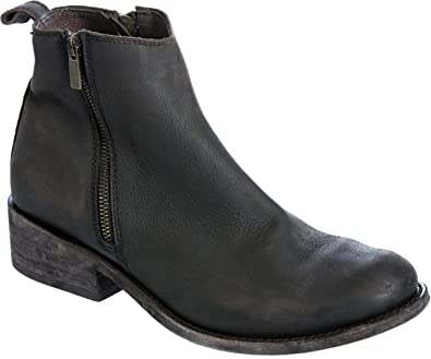 e123259f10f LIBERTY BLACK Men's Distressed Leather Ankle Boots