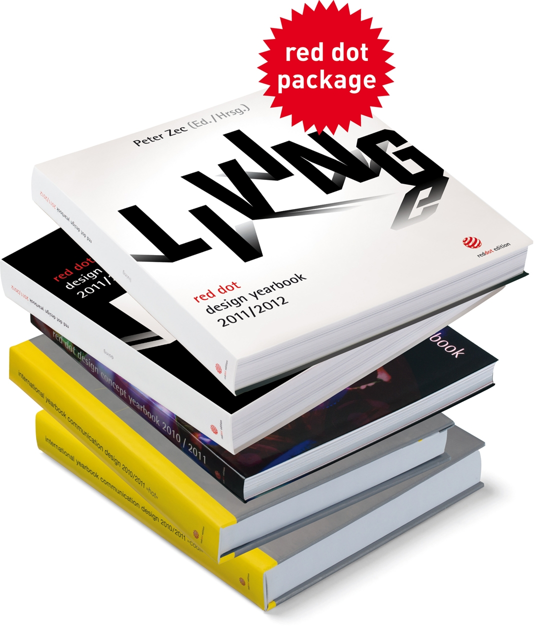 RED DOT PACKAGE PACKAGE SPRING 2011 (English and German Edition) PDF