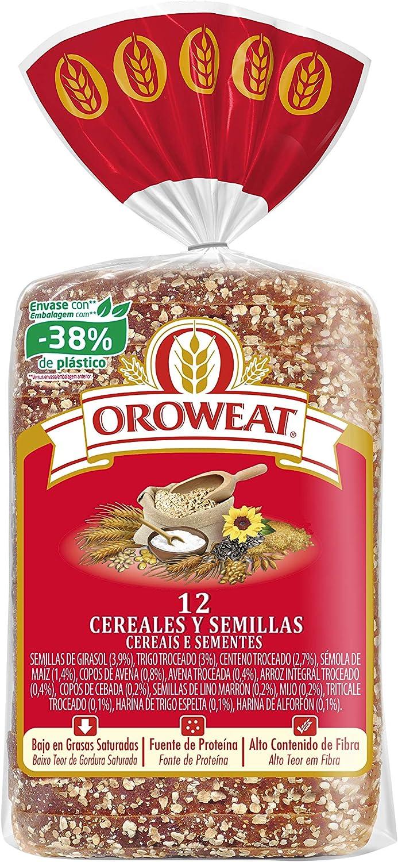 Oroweat 12 Cereales y Semillas, pan multicereales con corteza 680g, 16 rebanadas: Amazon.es: Alimentación y bebidas