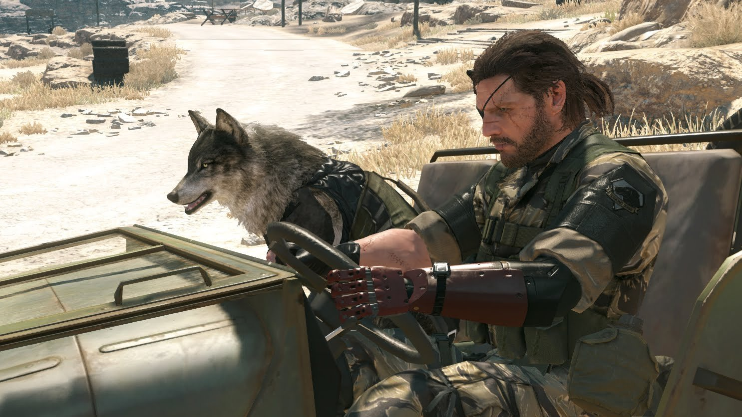 METAL GEAR SOLID V: THE PHANTOM PAIN PREMIUM PACKAGE(PS4)1/1Bionic Arm