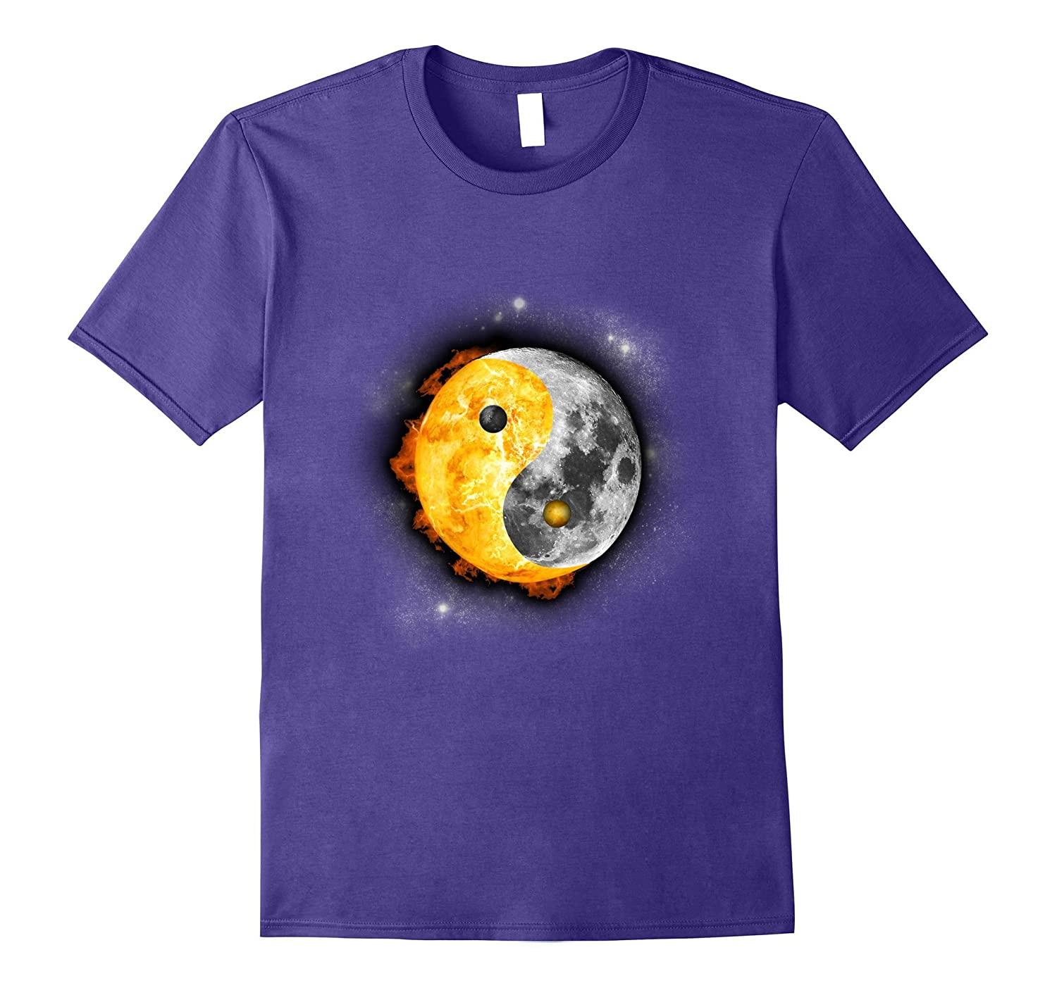 Yin Yang Total Solar Eclipse 2017 August T-Shirt Gift-CL