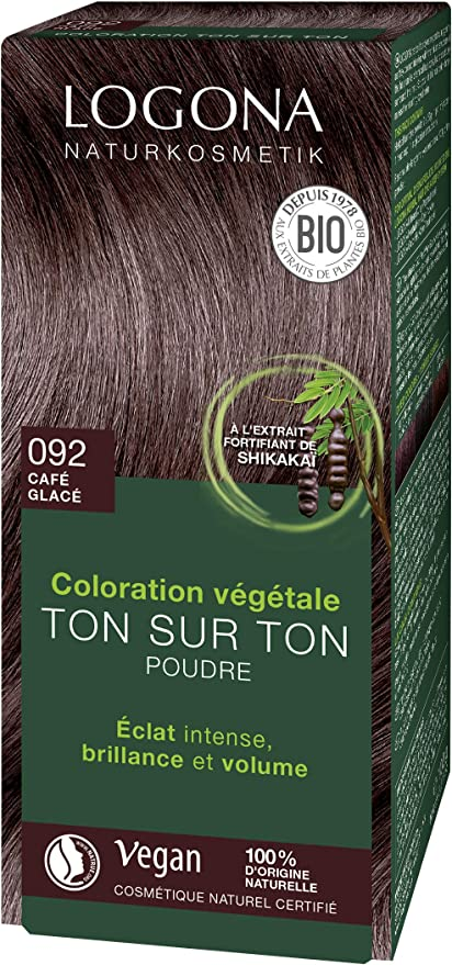 Logona Colorante vegetal castaño cafe 092 100gr. 1 Unidad 100 g