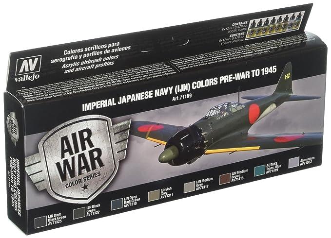Amazon com: Vallejo Imperial Japanese Navy Set 17ml Paint