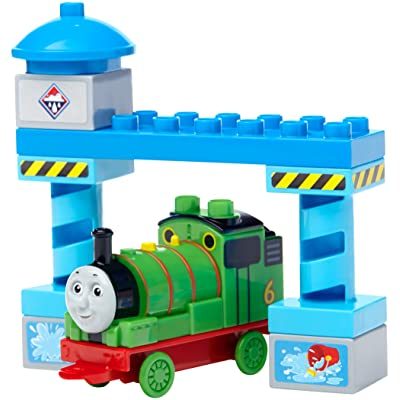 Mega Bloks Thomas & Friends Percy Buildable Engine Toy Figure: Toys & Games