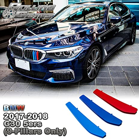 Amazoncom Layer Painted MColor Kidney Grille Stripe For BMW - Bmw m colored kidney grille stripe decals