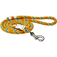 Pets Like Cotton Rope Leash, Gold (12mm)