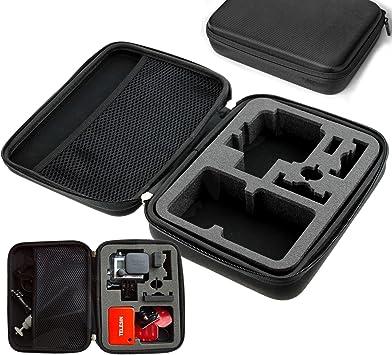Medianas Marzan para carcasa rígida en caja de para cámaras GoPro Go PRO HERO 4 3 + 3 2 cámara: Amazon.es: Electrónica