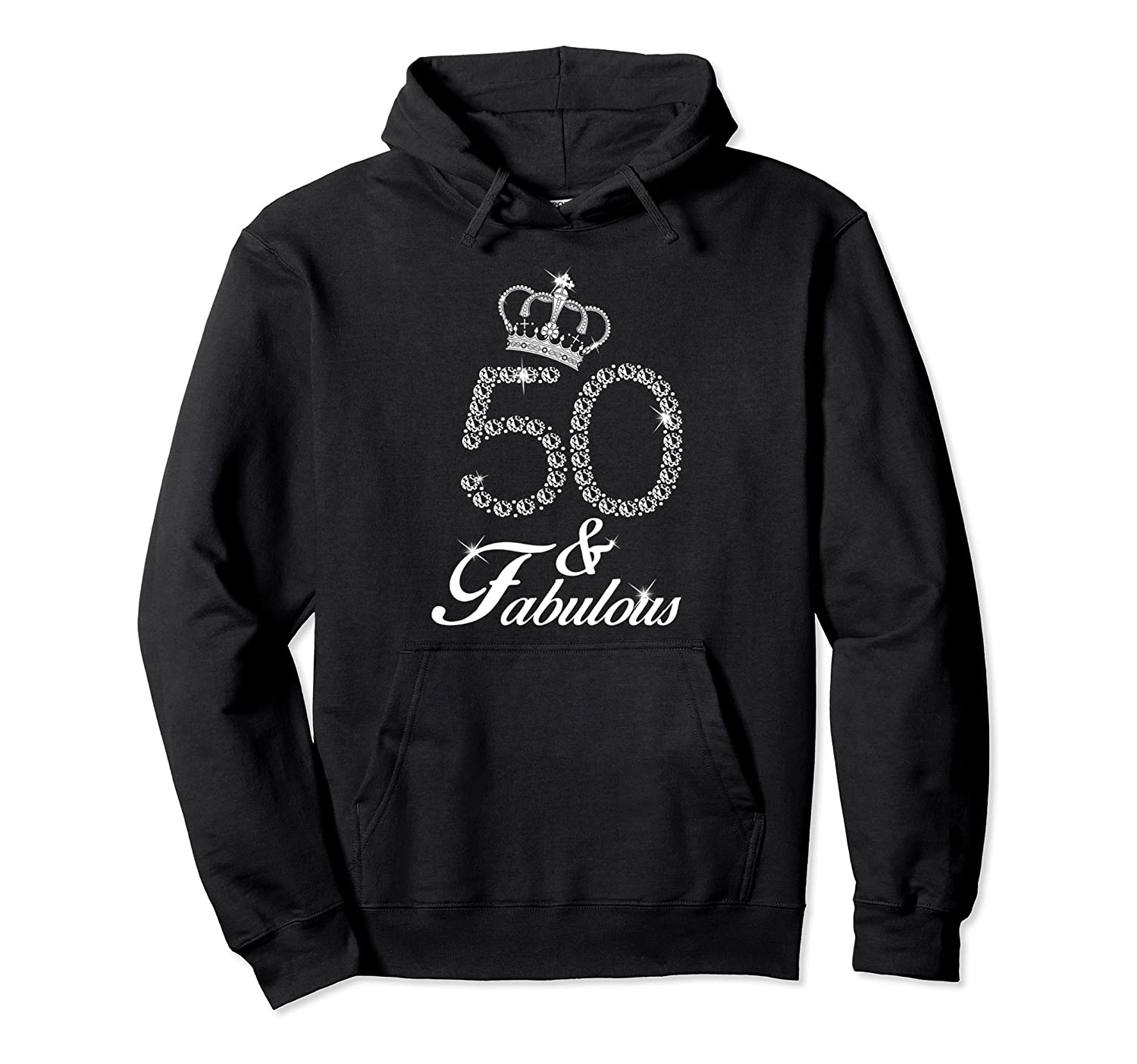 50th Birthday Gift Diamond 1968 Pullover Hoodie for Women-alottee gift