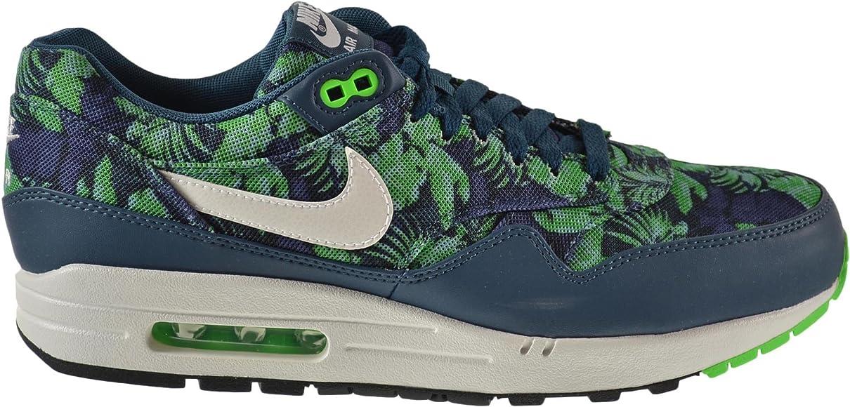 personalidad Café Aclarar  Amazon.com: Nike Air Max 1 GPX Hombre Zapatos Espacio Azul/white-black Jade  684174 – 400, Azul, 13 D(M) US: Shoes