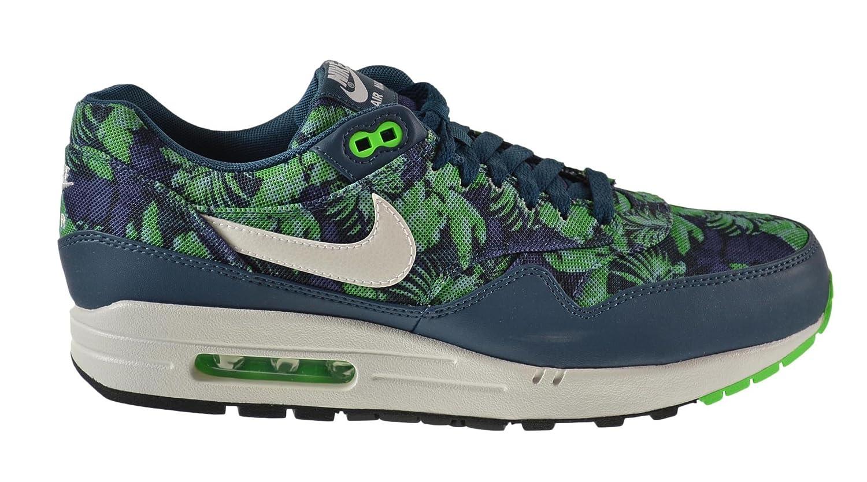 size 40 b8f79 4cc59 Amazon.com   Nike Air Max 1 GPX Men s Shoes Space Blue White-Black Jade  684174-400 (13 D(M) US)   Running
