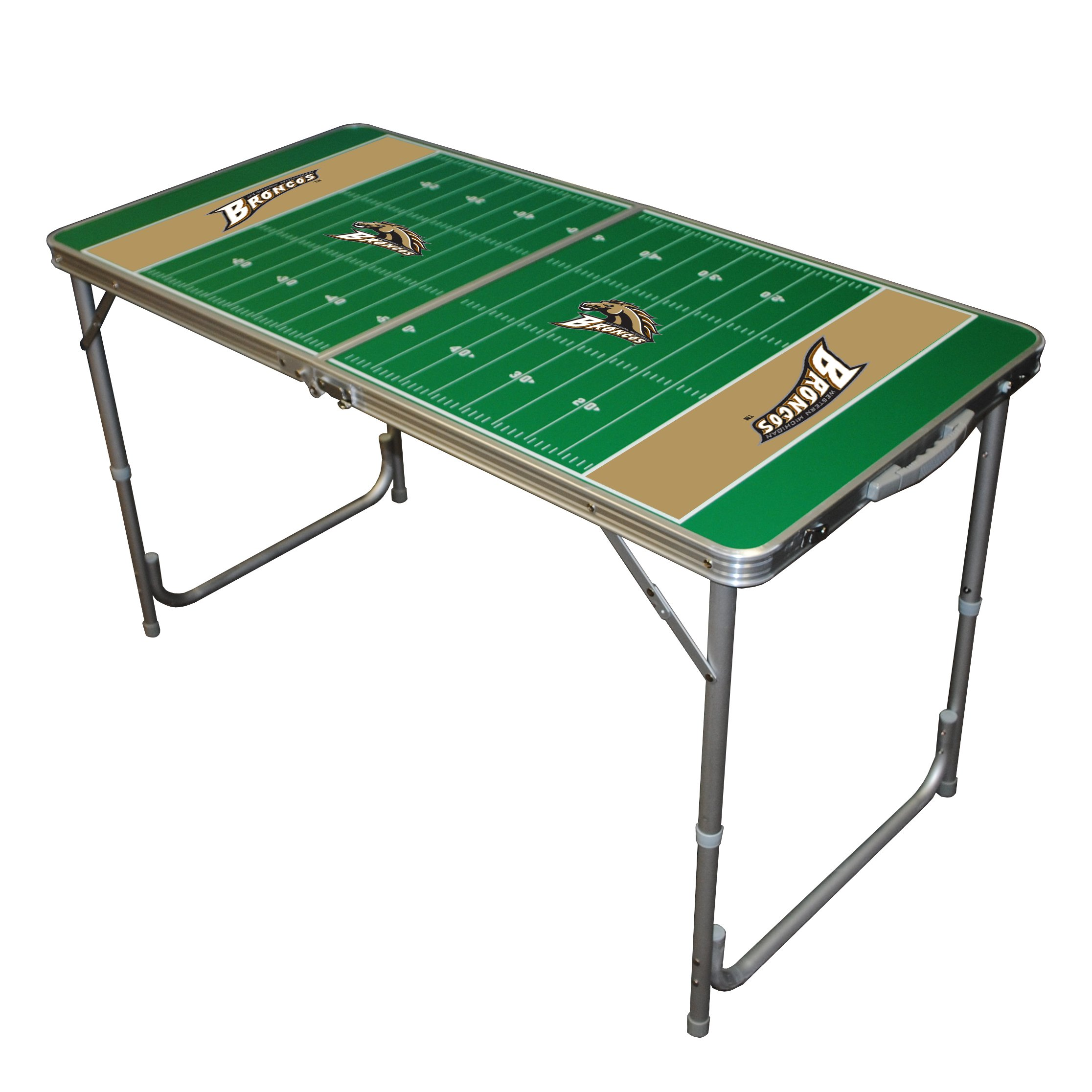 NCAA College Western Michigan Broncos 2x4 Tailgate Table