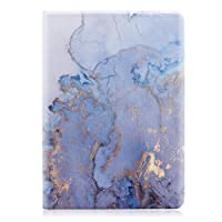 SECOWEL New iPad 2018/2017 9.7 Inch Case,Marble Design PU Leather Folio Flip Smart Case Cover Stand with Auto Wake/Sleep for Apple iPad 9.7 2017/2018,Hot Stamping Marble
