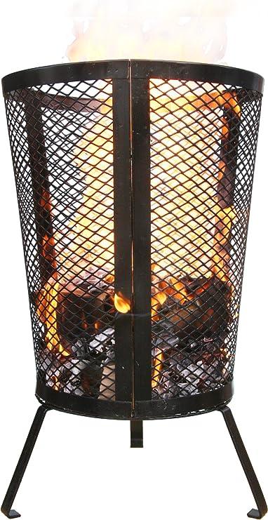 Gardeco GI001 incinerador Grande - Negro: Amazon.es: Jardín
