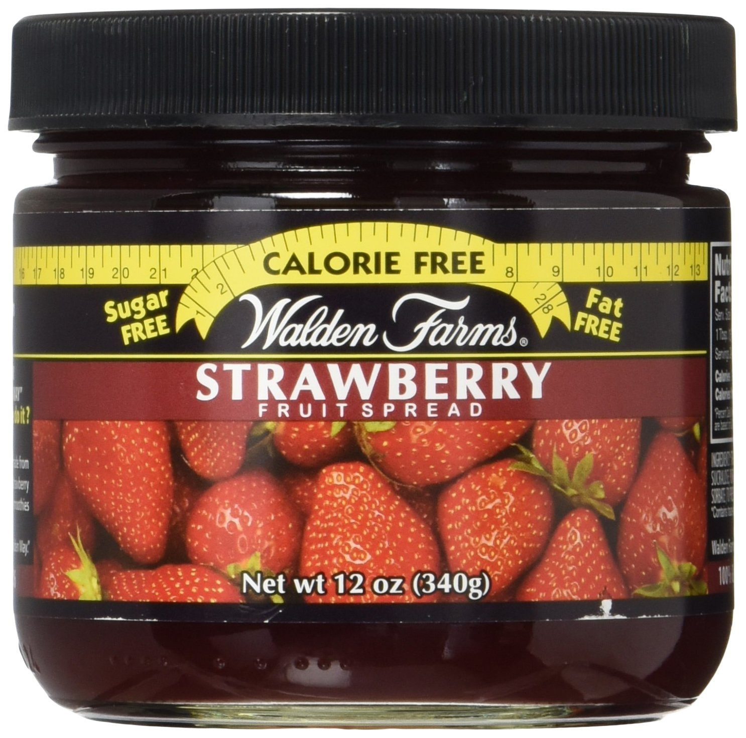 Walden Farms Calorie Free Fruit Spread, Strawberry Flavoured, 12 oz