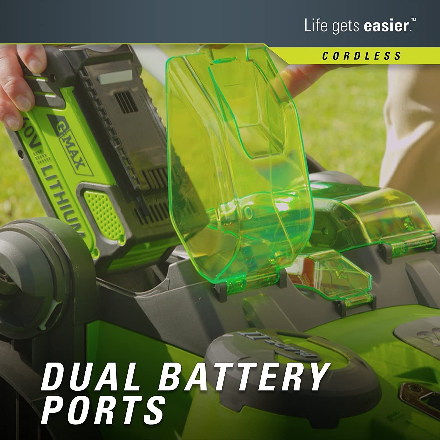 Greenworks 25302 Batteries  Review