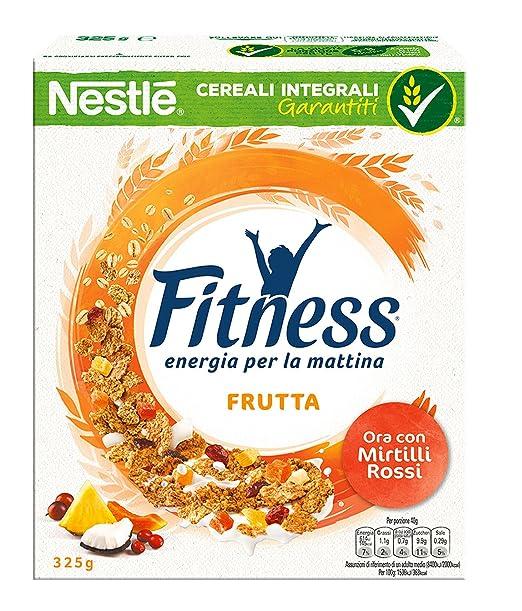21 opinioni per Fitness Fruits Cereali Fiocchi di Frumento con Frutta: Uvetta Ananas Papaya