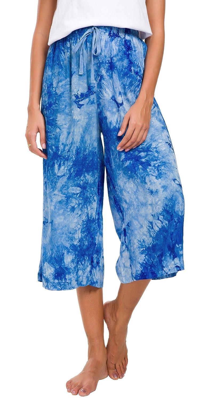 EEVASS Mujeres Pantalones Flojos Ocasionales Retros de Los Pantalones Flojos