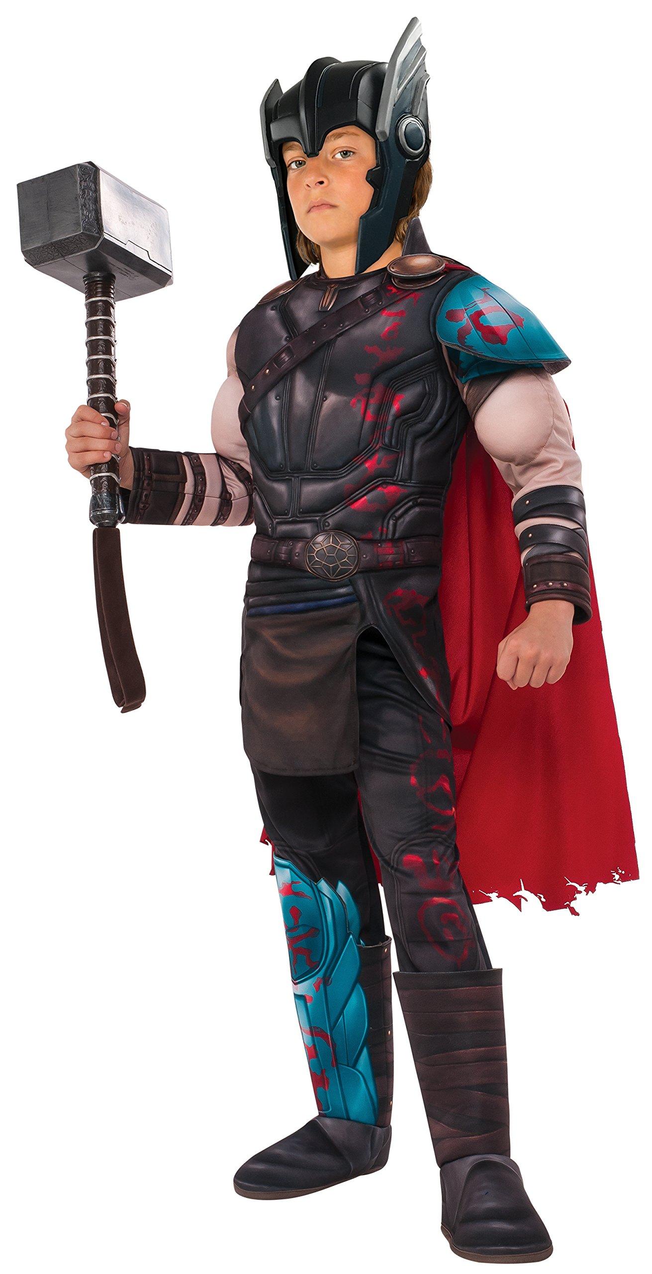 Rubie's Thor: Ragnarok Child's Deluxe Gladiator Thor Costume, Medium