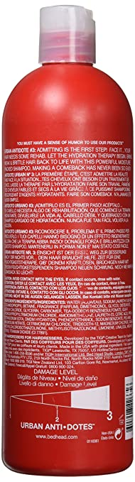 c9db2cd44 Amazon.com : TIGI Bed Head Urban Anti+dotes Resurrection Conditioner  level-3 25.36 oz (Pack Of 1) : Standard Hair Conditioners : Beauty