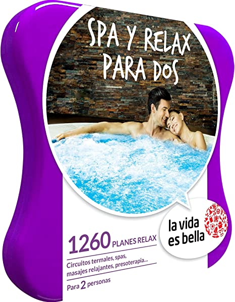LA VIDA ES BELLA - Caja Regalo - SPA Y RELAX PARA DOS - 1260 ...
