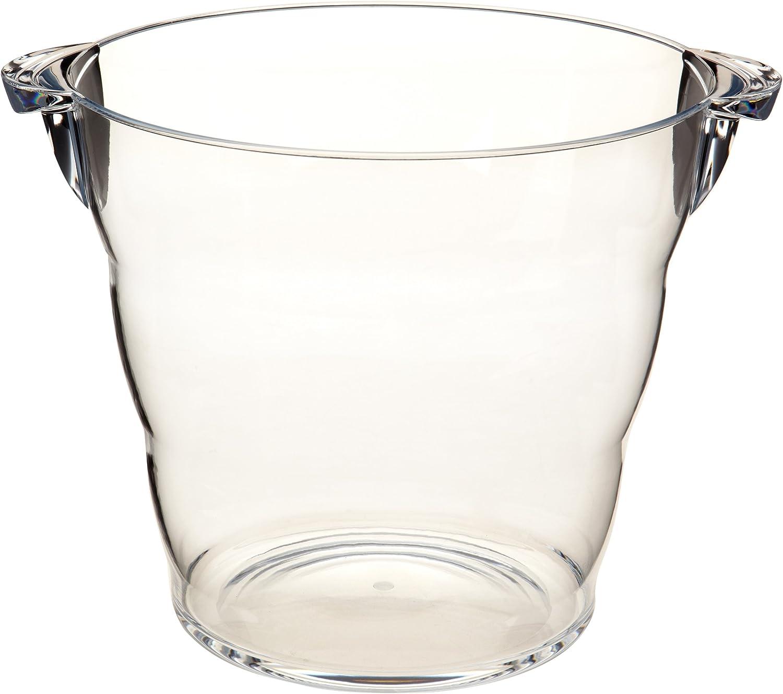 Prodyne Acrylic Grand Wine Bucket, Clear