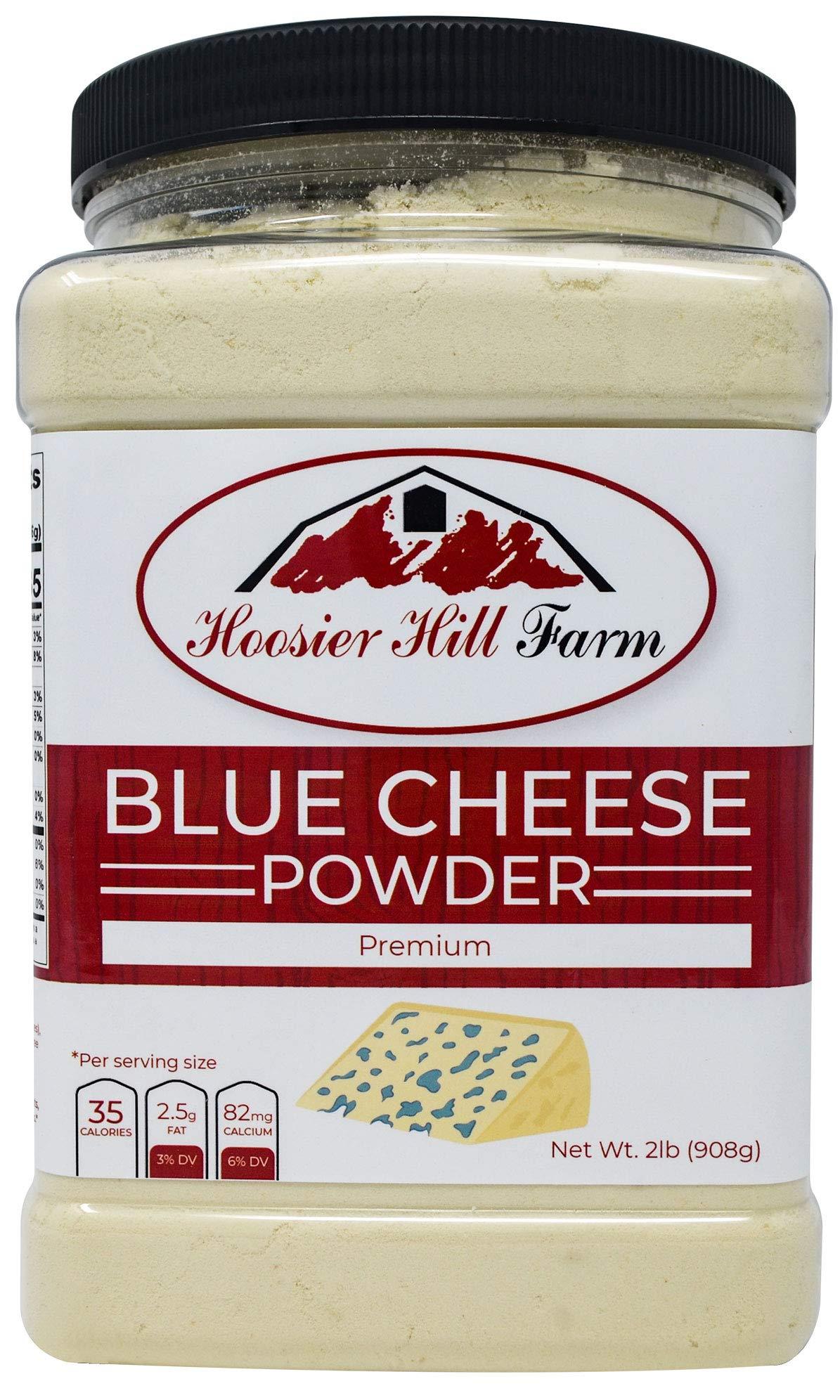 Blue Cheese Powder by Hoosier Hill Farm 2 lb, Hormone free by Hoosier Hill Farm