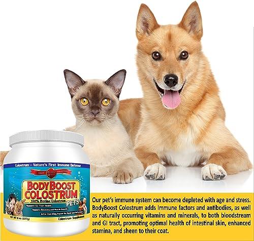 Colostrum Powder 8 oz. Pet, 100 Whole 1st Milking