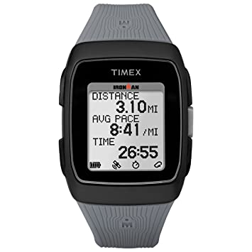 Timex Ironman GPS Correa de Silicona Reloj - TW5M11800, Negro/Gris: Amazon.es: Deportes y aire libre