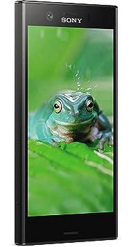Sony Xperia XZ1 Compact Smartphone (11,65 cm (4,6 Zoll) Triluminos Display, 19MP Kamera, 32GB Speicher, Android) Schwarz - De