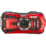 Ricoh WG-30 red 16 MP Waterproof Digital Camera with 5x Optical Image Stabilized Zoom and 2.7 Inch LCD (Red)