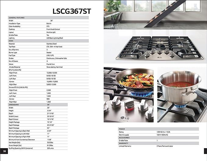 Amazon.com: LG Studio 36