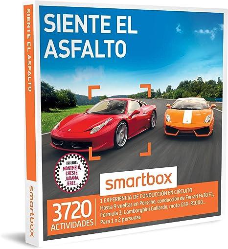SMARTBOX - Caja Regalo - SIENTE EL ASFALTO - 3720 actividades de ...