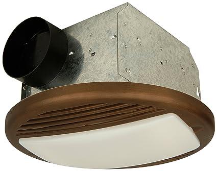 Craftmade TFV70L-BZ 70 CFM Bathroom Exhaust Fan Light, Bronze ...